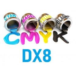 Encre UV 6 couleurs DX8 Epson uv print france