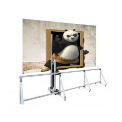 Imprimante murale verticale mémoire 210 cm de haut par 450 cm de longueur