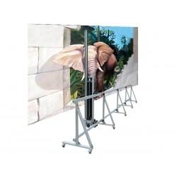 Imprimante murale verticale mémoire + 210 cm de haut par 600 cm de longueur