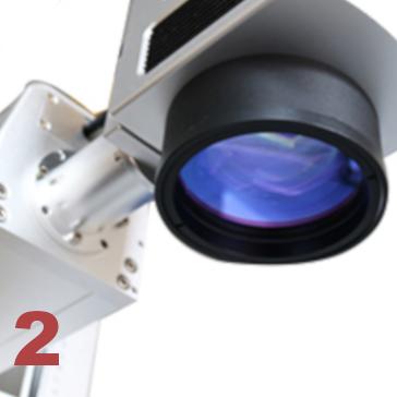 decoupeur graveur laser fibre scanner galvanometre