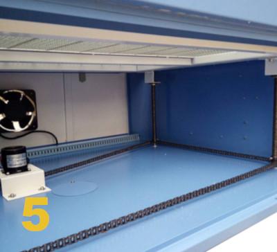 decoupeur laser Co2 plate forme de chargement