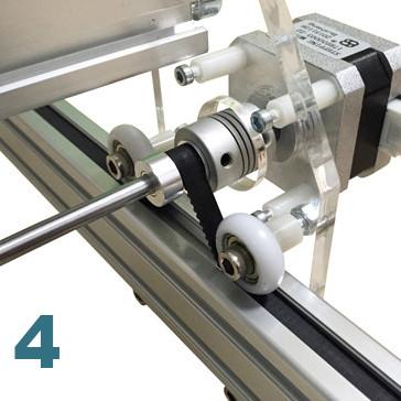 Couroie de transmission imprimante laser ultra violet 100cm X 100 cm
