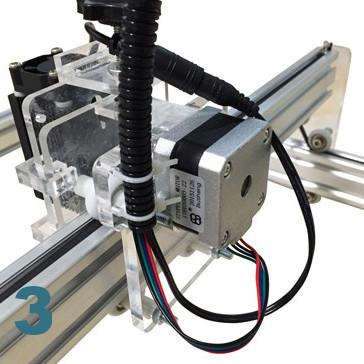 Moteur pas à pas pour machine gravure decoupe laser ultra violet 100 cm X 100 cm