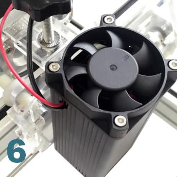 ventilateur de refroidissement pour graveur decoupe laser ultra violet 100cm X 100 cm