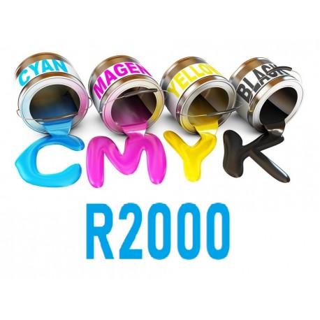 Encre UV 6 couleurs R2000 Epson uv print france