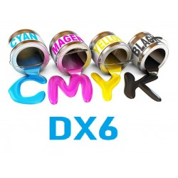 Encre UV 6 couleurs DX6 Epson uv print france