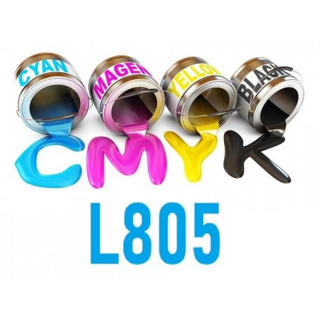 encre 6 couleur 250 ml, 500 ml, 1000 ml Epson L805