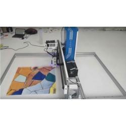 Imprimante UV à plat 2 mètres par 3 mètres imprimante pour sol