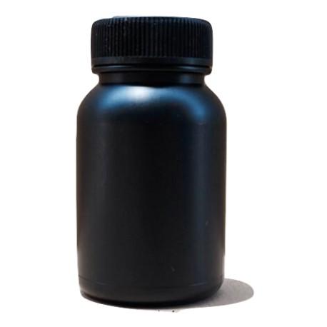 bouteille noir 100 ml hdpe UV