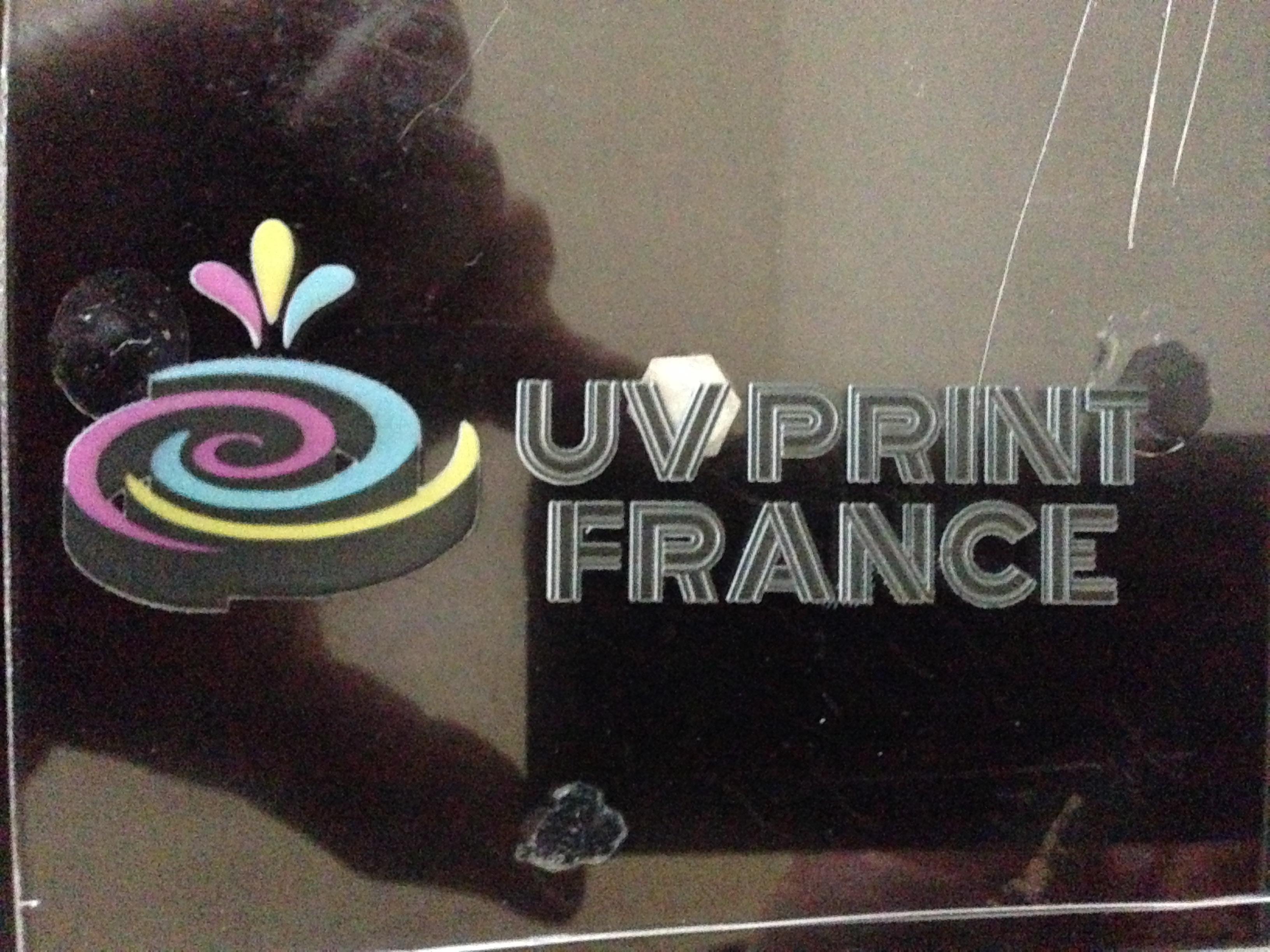 impression uv couleurs sous couche blanc support acrylique plexiglas