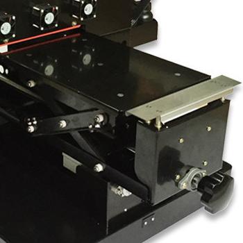 chariot de chargement imprimante uv pour coque de téléphone